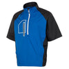 Sunice Webster X20 Wind/ Water Repellant Half Sleeve Golf Jacket  - COLLEGIATE/BLACK