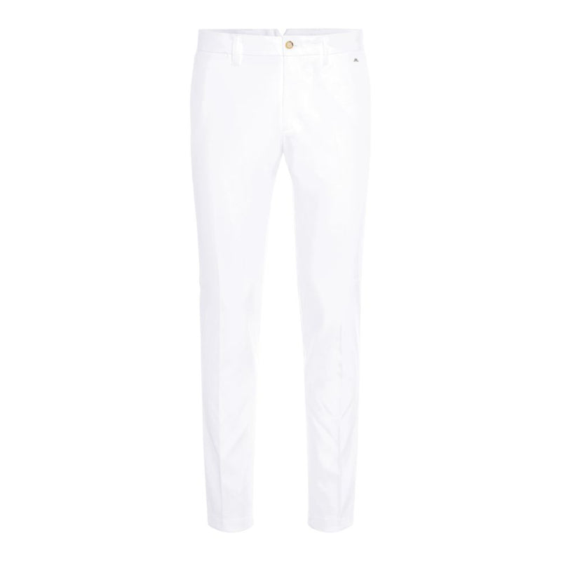 J Lindeberg Men's Ellott Tight Fit Micro Stretch Pants - WHITE