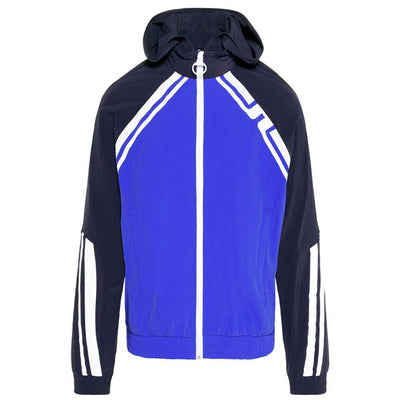 J.LINDEBERG SUFF RETRO LUX SOFT SHELL HOODED JACKET - JL NAVY