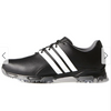 ADIDAS MEN'S Pure TRX Cleated Golf Shoes - Black White Grey