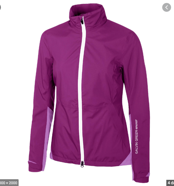 Galvin Green Womens AIDEEN GORE-TEX Waterproof Jacket - Wineberry Heather