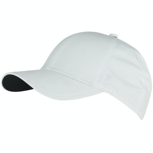 Galvin Green Mens SPACE Golf Cap - WHITE / BLACK