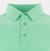 STRAIGHT DOWN MENS DODGE POLO - MOJITO GREEN