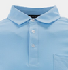 STRAIGHT DOWN MENS BALBOA COTTON POLO - COOL BLUE