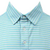 STRAIGHT DOWN MENS CONRAD POLO - MOJITO GREEN