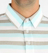 STRAIGHT DOWN MENS MARQUIS POLO - COOL BLUE