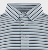 STRAIGHT DOWN MENS GILLEY POLO - WHITE/INDIGO