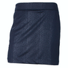 Greg Norman Embossed Python Knit Skort - NAVY