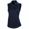 Greg Norman Women's S/L Valkyrie Polo - NAVY