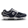 2019 FJ Womens Sport TF Boa Golf Shoe - NAVY/SILVER - Factory Blemish sz 7M
