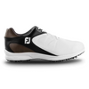 2019 FJ Mens ARC XT Golf Shoes - WHITE/BLACK/BROWN - Factory Blemish