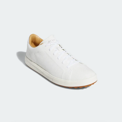 ADIDAS MEN'S ADIPURE SP KNIT SHOES - WHITE