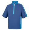 FJ - Men's Sport Short Sleeve Windshirt - Twilight Blue Marlin