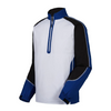 FJ - Men's Long Sleeve Sport Windshirt - White Royal Black