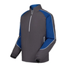 FJ - Men's Long Sleeve Sport Windshirt - Charcoal Royal