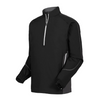 FJ - Men's Long Sleeve Sport Windshirt - Black Charcoal