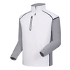 FJ - Men's Wind Tech Pullover White Grey Navy