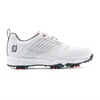 Footjoy Fury Junior Boys Golf Shoes - White