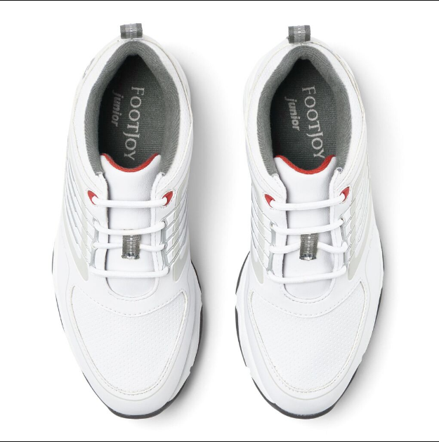 Footjoy Fury Junior Boys Golf Shoes White Golf Anything Us