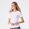 FootJoy Women's Striped Crew Neck Women - White Rose