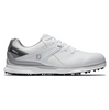 FJ Mens Golf Shoes Pro S/L - White Grey - Blemish