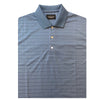 Straight Down Men's Linear Polo - Collegiate Blue