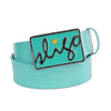 Sligo Tour Belts - Hyper Teal