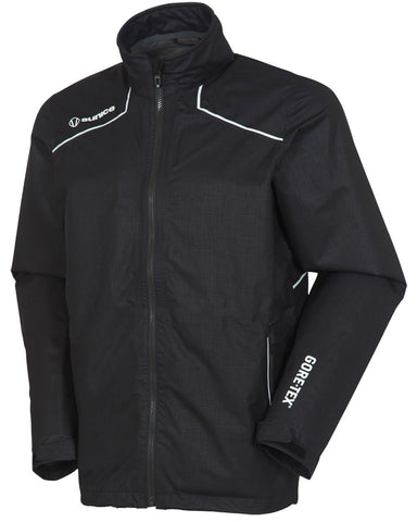 SUNICE TORRANCE GORE-TEX PACLITE JACKET - BLACK EMBOSSED/PURE WHITE