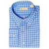 Mens Woven Long Sleeve Button Down OCEAN