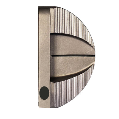 H3 Mallet Heavy Putter Mid Weight® Satin Finish - RIGHT HAND - HEAD ONLY