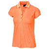 Galvin Green Womens Madilyn VENTIL8™ PLUS Polo - NECTARINE