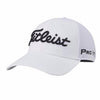 Titleist Sport Mesh ProV1-FJ Fitted Golf Hat - White