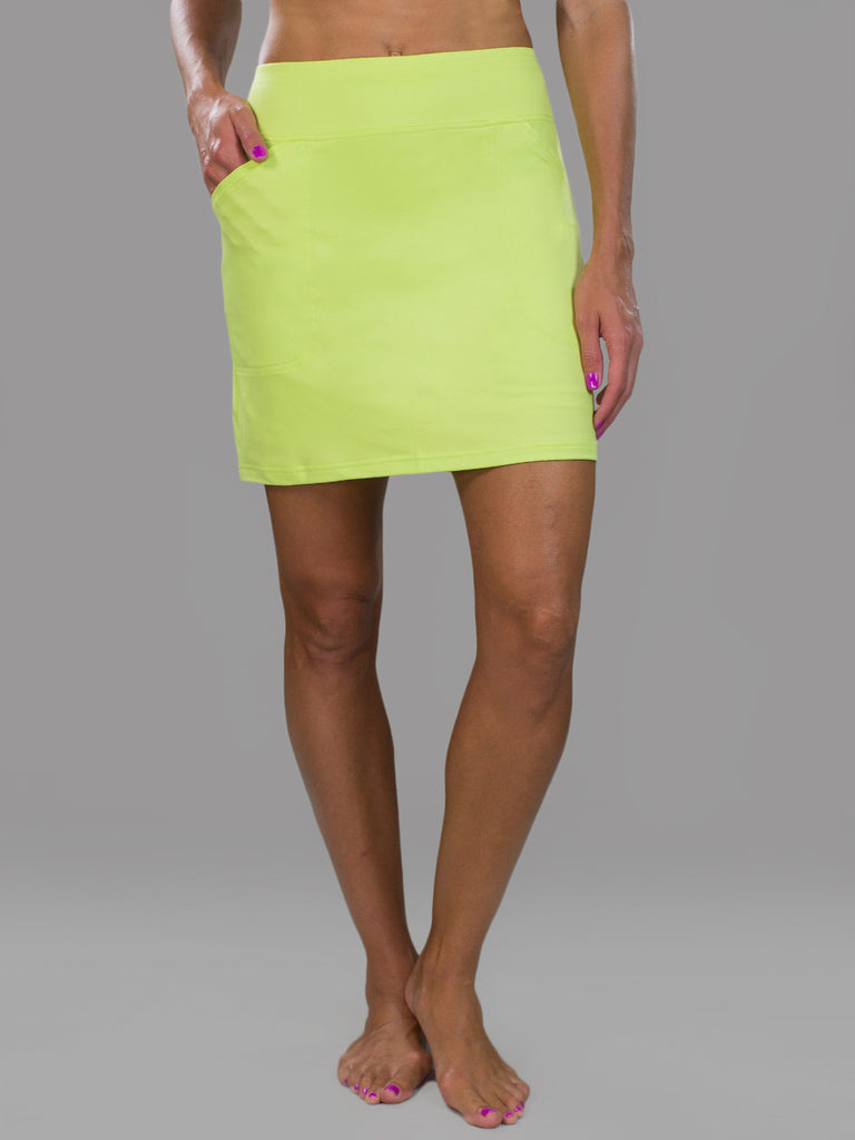 JoFit Jacquard Mina Skort- Apple Green
