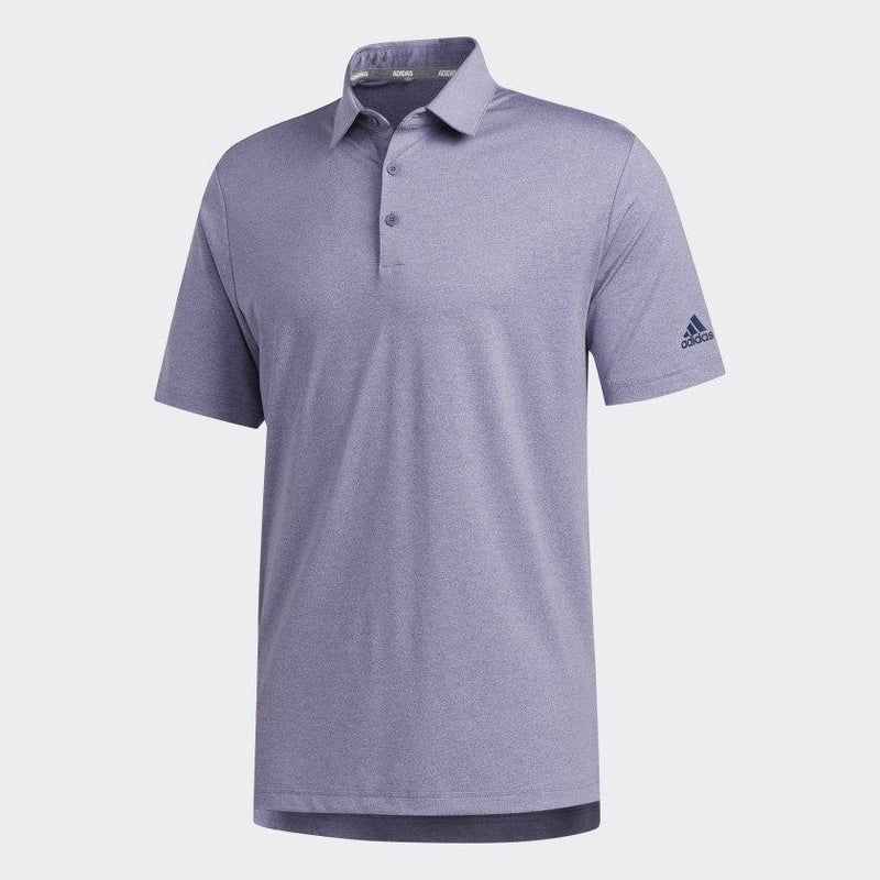 Adidas Mens Ultimate365 2.0 Novelty Heather Polo Shirt- TECH PURPLE MEL - (PRE ORDER)