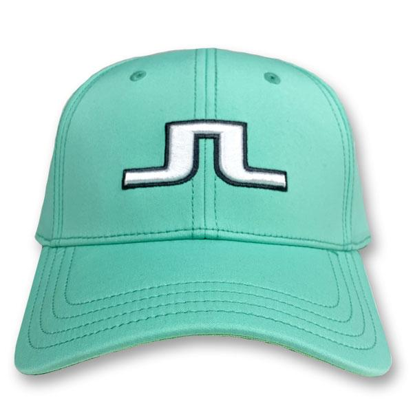 J. Lindeberg Men's Angus Tech Stretch Cap - MINT