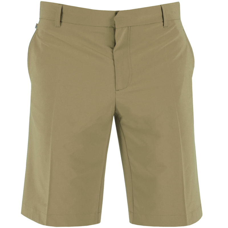 J Lindeberg Men's True 2.0 Micro Stretch Shorts - BEIGE