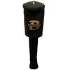 Belding DRIVER Head cover - BLACK FAUX LEATHER