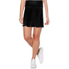 Womens Catwalk A-Line Knit Skort - Black