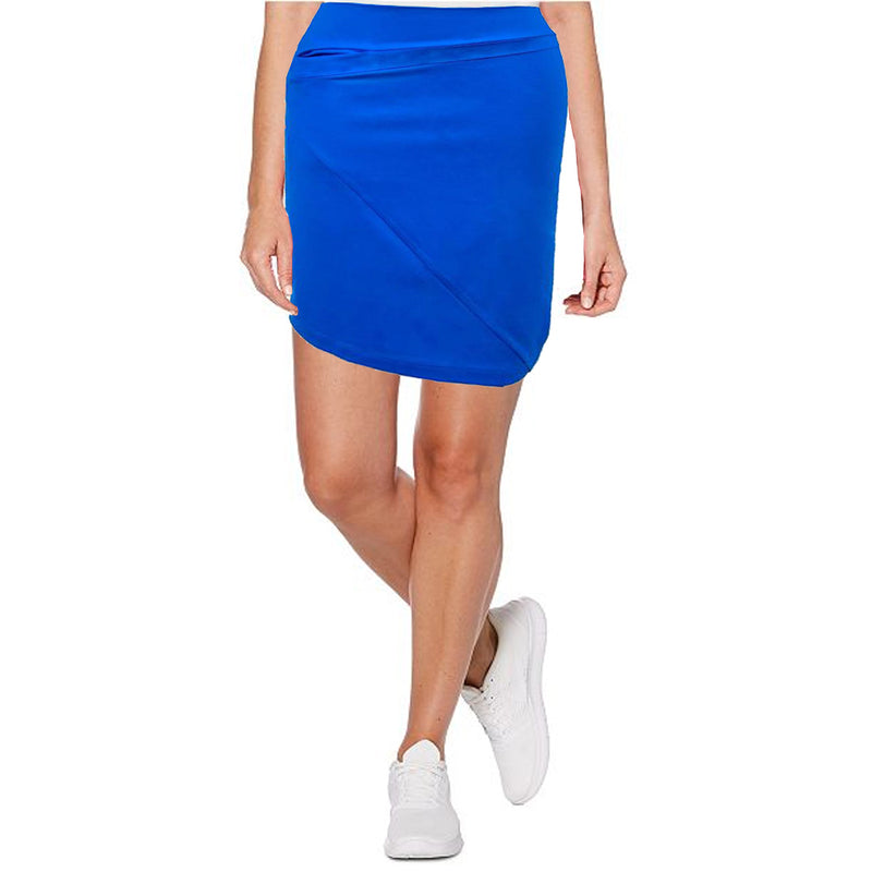 Womens Catwalk Z Knit Skirt - Dark Blue