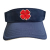 Black Clover - Visor - Navy Red Clover White Trim
