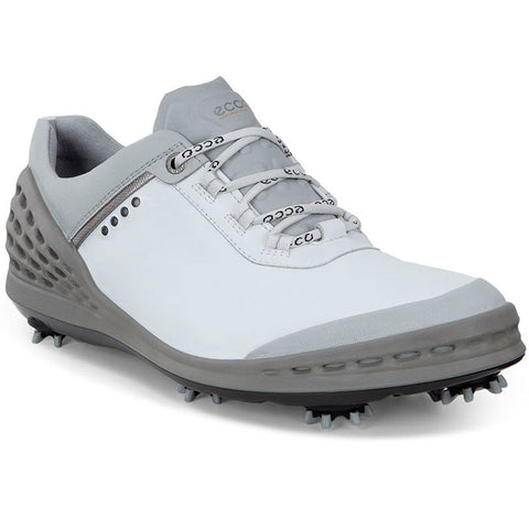 NEW - ECCO Men's Cage Golf Shoes - WHITE