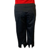 Womens Catwalk Capri - Cotton/Spandex - Black