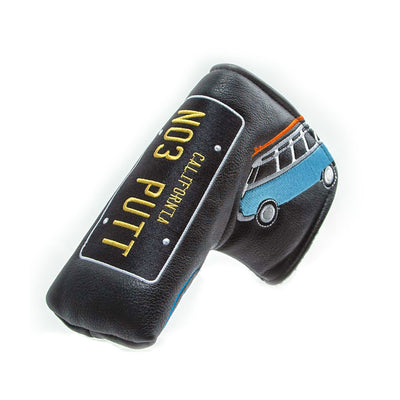 California Route 66 Ltd Edition Headcovers - BLACK