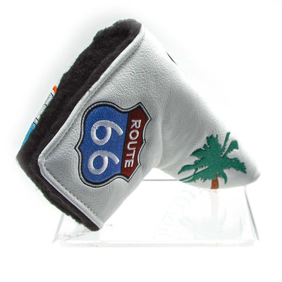 California Route 66 Ltd Edition Headcovers - WHITE
