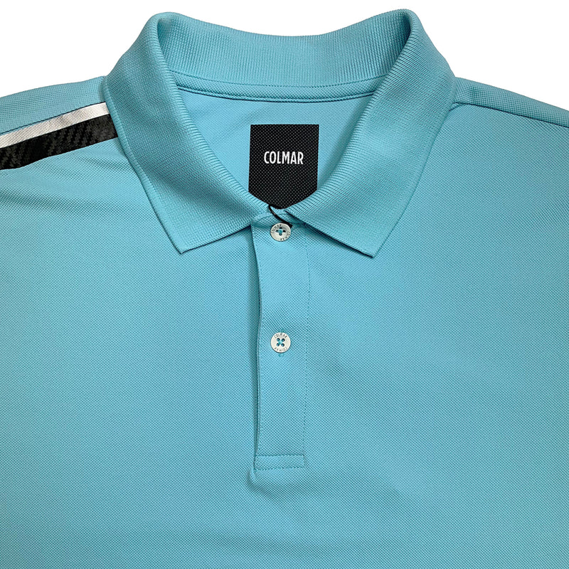 Colmar Men's Pique Polo - Light Blue