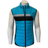 Colmar Men's Full Zip Wad Padded Vest - Blue/Black