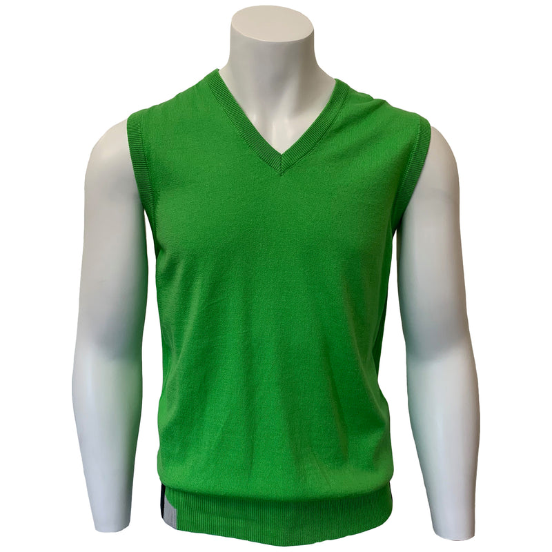 Colmar Men's Cotton Vest - Lime Green