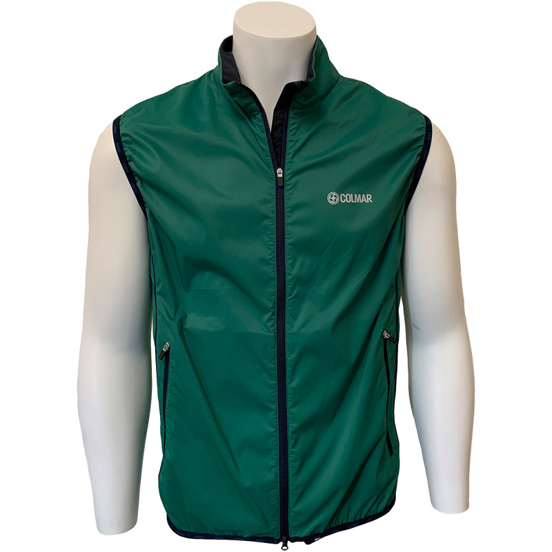 Colmar Men's Full Zip Vest - Green