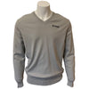 Colmar Men's Cotton Lined V-Neck Sweater - Grey