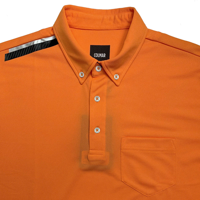 Colmar Men's Pique Polo - Orange